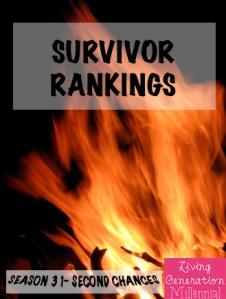 Survivor Ranking 31